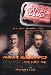 Fight Club movie poster [Brad Pitt, Edward Norton] 24'' X 36'' poster