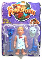 The Flintstones [Movie] Fillin' Station Barney action figure (Mattel)