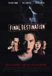 Final Destination movie poster (27 X 40 video version) NM