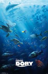 Finding Dory movie poster (22x34) Disney/Pixar