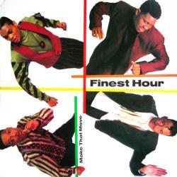 Finest Hour poster: Make That Move vintage LP/Album flat