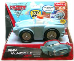 Cars 2: Talking Finn McMissile Light & Vehicle (Fisher Price/2010)