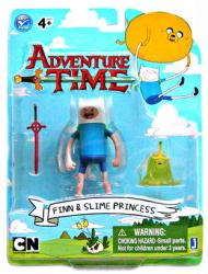 Adventure Time: Finn & Slime Princess figures (Jazwares)