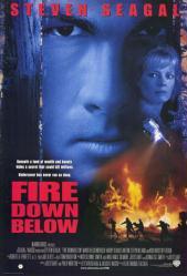 Fire Down Below movie poster [Steven Seagal] 27x40 video poster