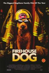 Firehouse Dog movie poster (2007) original 27x40