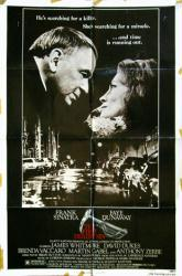 The First Deadly Sin movie poster [Frank Sinatra, Faye Dunaway] 27x41