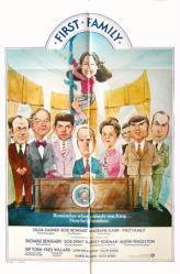 First Family movie poster [Gilda Radner, Bob Newhart] original 27 X 41