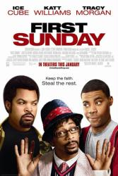 First Sunday movie poster [Ice Cube, Katt Williams & Tracy Morgan]