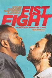 Fist Fight movie poster [Ice Cube, Charlie Day] original 27x40