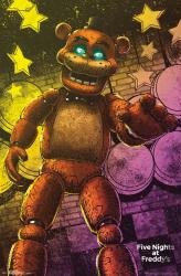 Five Nights at Freddy's poster: Classic Freddy (22x34)