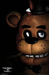 Five Nights at Freddy's poster: Freddy (22x34)