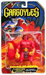 Gargoyles: Flamestorm Goliath action figure (Kenner/1995)