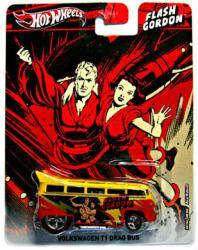 Hot Wheels Pop Culture: Flash Gordon Volkswagen T1 Drag Bus diecast