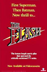 The Flash movie poster (1990) original 24x36 video poster