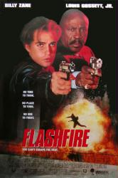 Flashfire movie poster [Billy Zane, Louis Gossett Jr.] 27x40