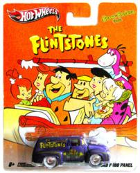 Hot Wheels Nostalgic: Hanna-Barbara Flintstones '56 Ford F-100 Panel