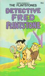 The Flintstones paperback book: Detective Fred Flintstone (1978)