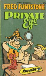 The Flintstones paperback book: Fred Flintstone Private Eye (1979)