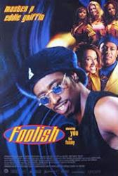 Foolish movie poster [Eddie Griffin, Master P] 27x40
