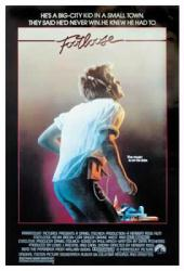 Footloose movie poster  1984   Kevin Bacon  27   X 40    MPU0263 Footloose Movie Poster 1984