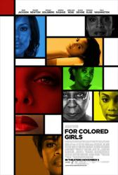 For Colored Girls movie poster [Janet Jackson/Thandie Newton/Goldberg]