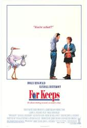 For Keeps movie poster [Molly Ringwald] 1988 original 27x41