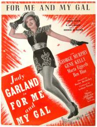 For Me and My Gal vintage sheet music [Judy Garland] 1942