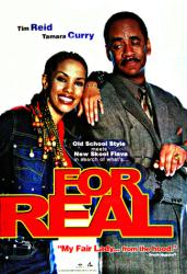 For Real movie poster [Tim Reid & Tamara Curry] video version