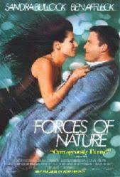 Forces of Nature movie poster [Sandra Bullock, Ben Affleck] 27x40 NM