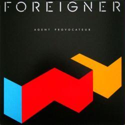 Foreigner poster: Agent Provocateur vintage LP/Album flat