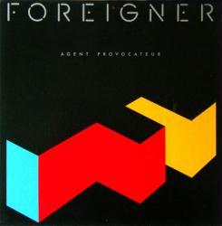 Foreigner poster: Agent Provocateur vintage LP/Album flat (1984)
