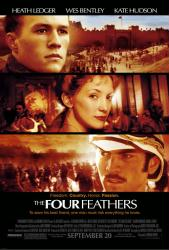 Four Feathers movie poster [Heath Ledger, Kate Hudson, Wes Bentley] NM