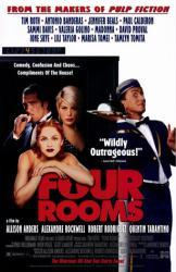 Four Rooms movie poster [Madonna, Antonio Banderas & Tim Roth] video