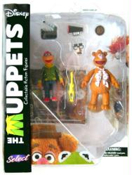The Muppets: Fozzie & Scooter action figures (Diamond Select/2016)
