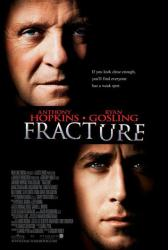 Fracture movie poster [Anthony Hopkins, Ryan Gosling] 27x40