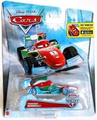 Cars Ice Racers: Francesco Bernoulli die-cast (Disney/Pixar) 2014
