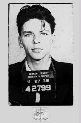 Frank Sinatra poster: Mugshot (24'' X 36'') New