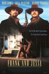 Frank and Jesse movie poster [Rob Lowe & Bill Paxton] video poster