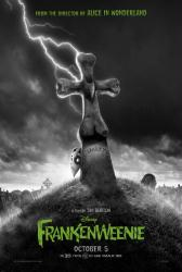 Frankenweenie movie poster [2012 Tim Burton film] 27x40 advance
