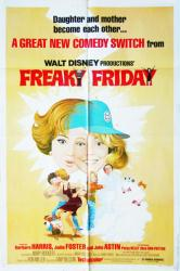 Freaky Friday movie poster (1976) [Barbara Harris, Jodie Foster] 27x41