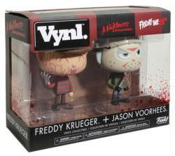 """Freddy Krueger + Jason Voorhees 4.5"""" Vynl figures (Funko)"""