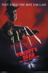 Freddy's Dead: The Final Nightmare movie poster [Robert Englund] 22x34