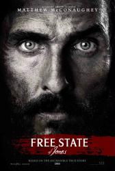 Free State of Jones movie poster [Matthew McConaughey] 27x40 original