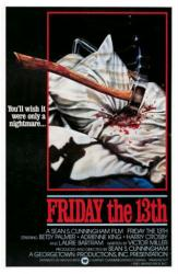 Friday the 13th movie poster (1980) 27x41
