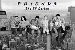 Friends poster: Lunch Atop a Skyscraper (36x24) TV Series