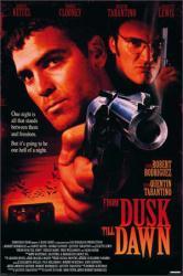 From Dusk Till Dawn movie poster [George Clooney, Tarantino] 24x36