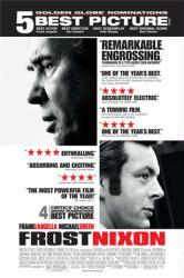 Frost/Nixon movie poster [Frank Langella/Michael Sheen] Awards version
