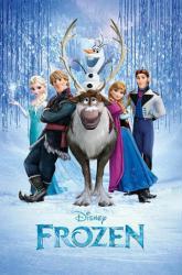 Frozen movie poster (24 X 36) Disney
