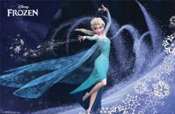 Frozen movie poster: Elsa's Spell [Disney] 34 X 22