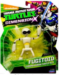 Teenage Mutant Ninja Turtles Dimension X: Fugitoid figure (Playmates)